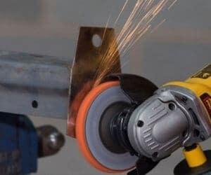 Angle grinder De Rusting