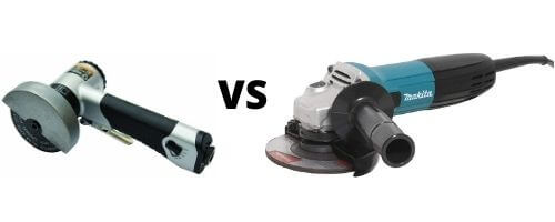 difference angle grinder and cut off tool
