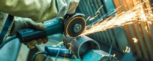 Cut Cast Iron Pipe with Angle Grinder