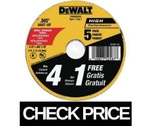 DEWALT - Best Angle Grinder Wheel for Cutting Metal