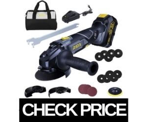 RIDA - Best Variable Speed Angle Grinder