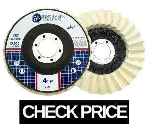 Benchmark - Best Buffing Wheel for Angle Grinder